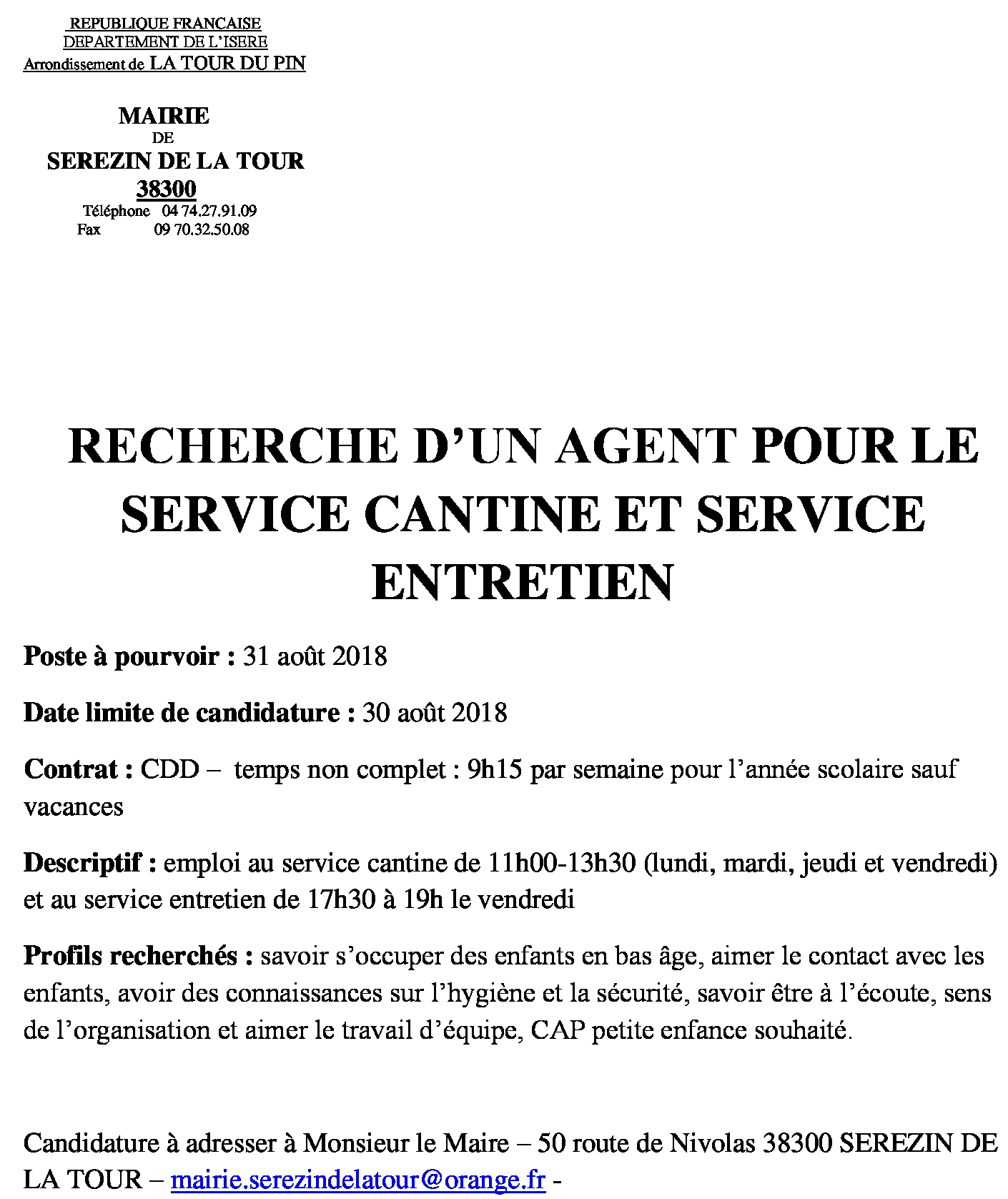 ANNONCE AGENT SERVICE CANTINEETENTRATIENdocx